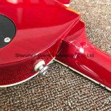 빨간 흑단 Fingerboard (GLP-527)에 있는 1PCS 바디와 목 Lp 일렉트릭 기타