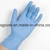 Хорошее качество одноразовые нитриловые перчатки исследования с помощью синего цвета
