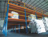 Tormento de acero del almacenaje del almacén de Plaforms con Mazzanine