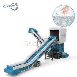 Pet/PE/PP/PVC de Plastic Lopende band van de Machine van het Recycling van de Was van het Blad van de Trommel van de Fles Verpletterende Drogende
