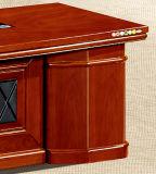 Tabela executiva personalizada do escritório da mesa do MFC da parte superior de madeira contínua