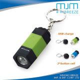 USB 소형 Keychain 토치 소형 LED 횃불빛 USB Keychain 빛