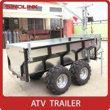 Aanhangwagen van het Nut van Ce ATV de Kleine voor Hout