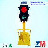 비상사태 태양 움직일 수 있는 신호등/LED 태양 휴대용 신호등