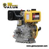 6.7HP 침묵하는 디젤 엔진 발전기는 Zh178f (e)를 분해한다