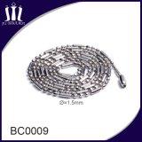 De goedkope Juwelen van de Halsband van de Ketting van de Parel van de Bal van het Staal