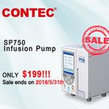 Medische Apparatuur IV van Contec Sp750 de Volumetrische Apparatuur van de Pomp van de Infusie Elektronische Medische