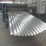 Telhado de ferro revestida de cores de Papelão Ondulado Galvalume Chapa de Aço Galvanizado