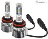 Lampade automatiche dei commerci all'ingrosso LED, faro automatico del LED, lampadina automatica 6000lm X3 del LED