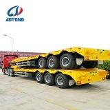 La Chine Aotong 3 Col de cygne d'essieu basse pour la vente de remorques de lit