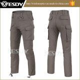 人のマルチポケット戦術的な戦闘のズボンの屋外の速乾燥のズボン