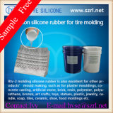 Customerized Liquid Silicone Rubber para Tyre Molds Making