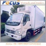 Mini tipo camion del contenitore di congelatore dell'indicatore luminoso 5t per per la frutta Frozen della carne dei frutti di mare