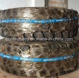 Ladevorrichtung verwendete Polyurathane den füllenden Reifen, der vom Accella Material gebildet wurde
