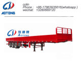 Tri-Axle 50 toneladas de carga de la pared lateral semi remolque para venta