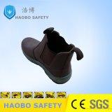 Calzature alla moda di sicurezza del cuoio genuino