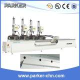 Алюминий и профиль PVC машина Multi-Головки Drilling