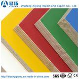 El papel de melamina color sólido frente la madera contrachapada muebles para interiores