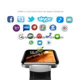 Descargar aplicaciones de soporte 3G/GPS Reloj inteligente teléfono con cámara Dm98