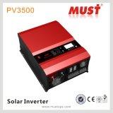 Inverseur d'énergie solaire de l'hybride 10kw 48V DC/AC de la nécessité PV3500series MPPT