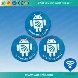 Etiqueta engomada imprimible en blanco ultraligera del papel NFC