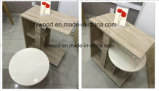 机の組合せ木製表の腰掛けの喫茶店の家具