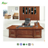 2014 MDF Wood Veneer Office Table with PU Cover