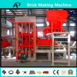 Bloc complètement automatique formant la machine concrète de brique de machine