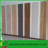 Álamos Core grado muebles de madera contrachapada laminada de melamina