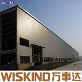 Almacén de acero ligero prefabricado del edificio de la construcción rápida