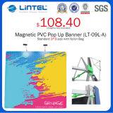 Tube carré Aluminum Banner Stand Magnetic Pop vers le haut (LT-09L-A)