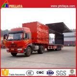 Ladung-Transport-halb LKW-beiliegender starker Stahlkasten-Schlussteil