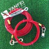 Сверхмощная связь кабельной проводки собаки вне привязывает для любимчика