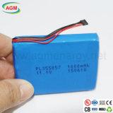Pacchetto reale della batteria ricaricabile di capienza Pl355057 1000mAh 11.1V
