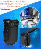2.0 поддержка несенная телом полиций дюйма водоустойчивым портативным камеры полная HD1080p беспроволочная видеокамеры полиций Recorer Zp605 WiFi /GPS/GPRS