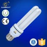 110-220V 2u 15W CFLのけい光ランプ8000h