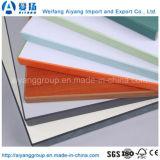 Bande solide de bordure foncée des forces de défense principale PVC/ABS pour des accessoires de meubles