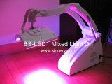 Tratamiento ligero rojo y azul del LED portable para el cáncer de piel