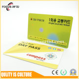 MIFARE 1K und EM-RFID Zweifrequenzkarte mit der Gutschrift in Scheckkartengröße