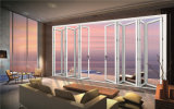 Grande porte en aluminium de /Balcony de porte de pliage