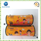 School Student Pencil Pen Case Box Zipper Stationery Bag (JP-plastic052)