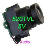 preço de fábrica 520TVL oculto de áudio Mini câmara CCTV de inspeção de segurança