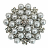 VAGULA 2016 Fashion Silver Pearl Brooch VAG62270