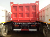 Carro resistente del camión de descargador de Cnhtc Sinotruk HOWO 6X4