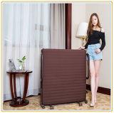 Cama con ruedas ajustable con colchón de 190 * 65cm del color de vino rojo / cama individual