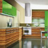 Porta de gabinete de cozinha MDF brilhante (ZH-939)