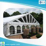 Marquise do Prédio Temporária Industrial tenda para depósito exterior tenda transparente