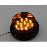 Personalizar el LED amarillo de 100mm de la señal de parte de la luz de Tráfico