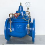 Válvula de manutenção de pressão ajustável multifuncional