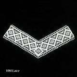 Il collare del collo del merletto di disegno delle signore Kurta, collare del merletto, merletto chimico supera X049